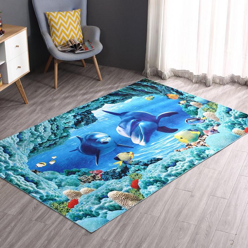 Thảm 3D trang trí - hai chú cá heo size 40x60cm - 3142286 , 350053038 , 322_350053038 , 75000 , Tham-3D-trang-tri-hai-chu-ca-heo-size-40x60cm-322_350053038 , shopee.vn , Thảm 3D trang trí - hai chú cá heo size 40x60cm