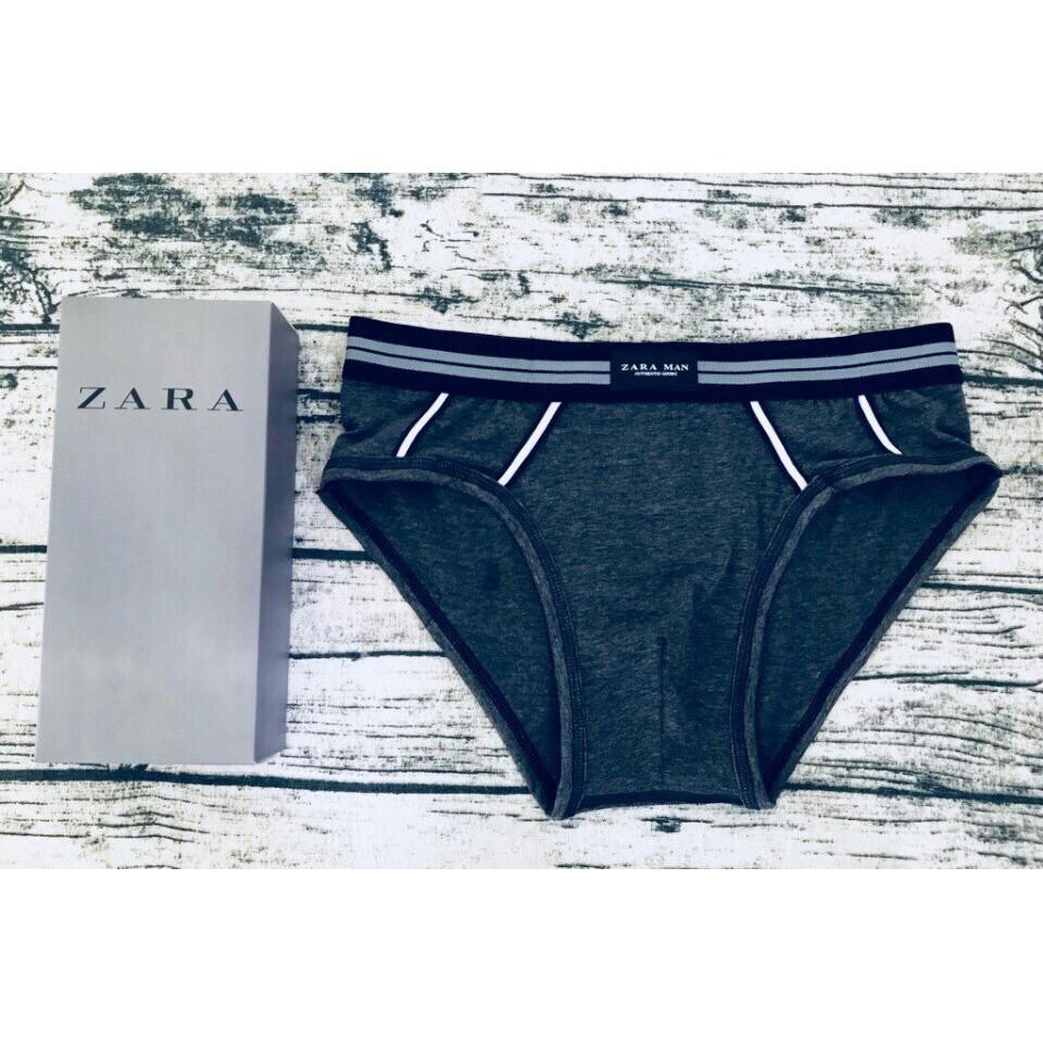 Sịp nam cao cấp ZARA MAN (1 hộp 3 chiếc) - quần lót nam combo 3 chiếc