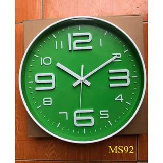 [ Hàng Nhập Khẩu ] Đồng hồ treo tường kim trôi cao cấp kiểu dáng Thể Thao - Bảo Hành 1 năm
