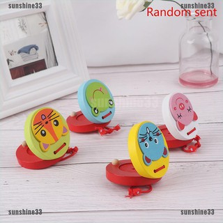 【COD•suns】Cute Castanets Musical Instrument Toy Children Wooden Toy Baby Toy