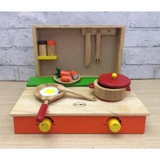 Đồ chơi nấu ăn   Bếp đồ chơi gỗ