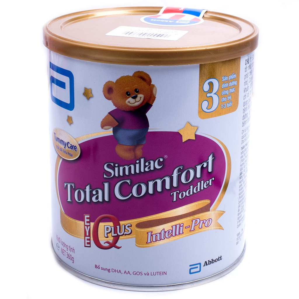 Sữa bột Similac Total Comfort 3 (360g) - 3433631 , 1176061809 , 322_1176061809 , 240000 , Sua-bot-Similac-Total-Comfort-3-360g-322_1176061809 , shopee.vn , Sữa bột Similac Total Comfort 3 (360g)