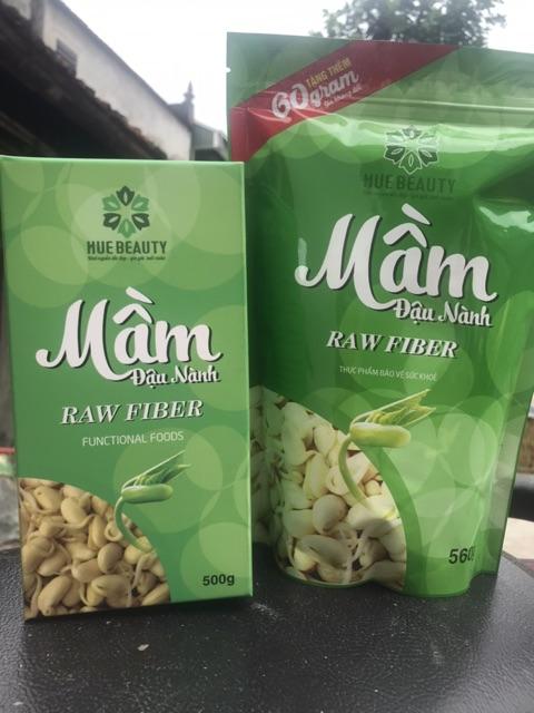 (Giá gốc) Mầm đậu nành Raw Fiber Huệ Beauty