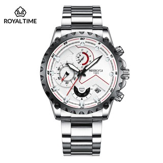 [Tặng vòng tay]Đồng hồ nam NIBOSI chính hãng NI2322.01 tặng dụng cụ tháo chốt