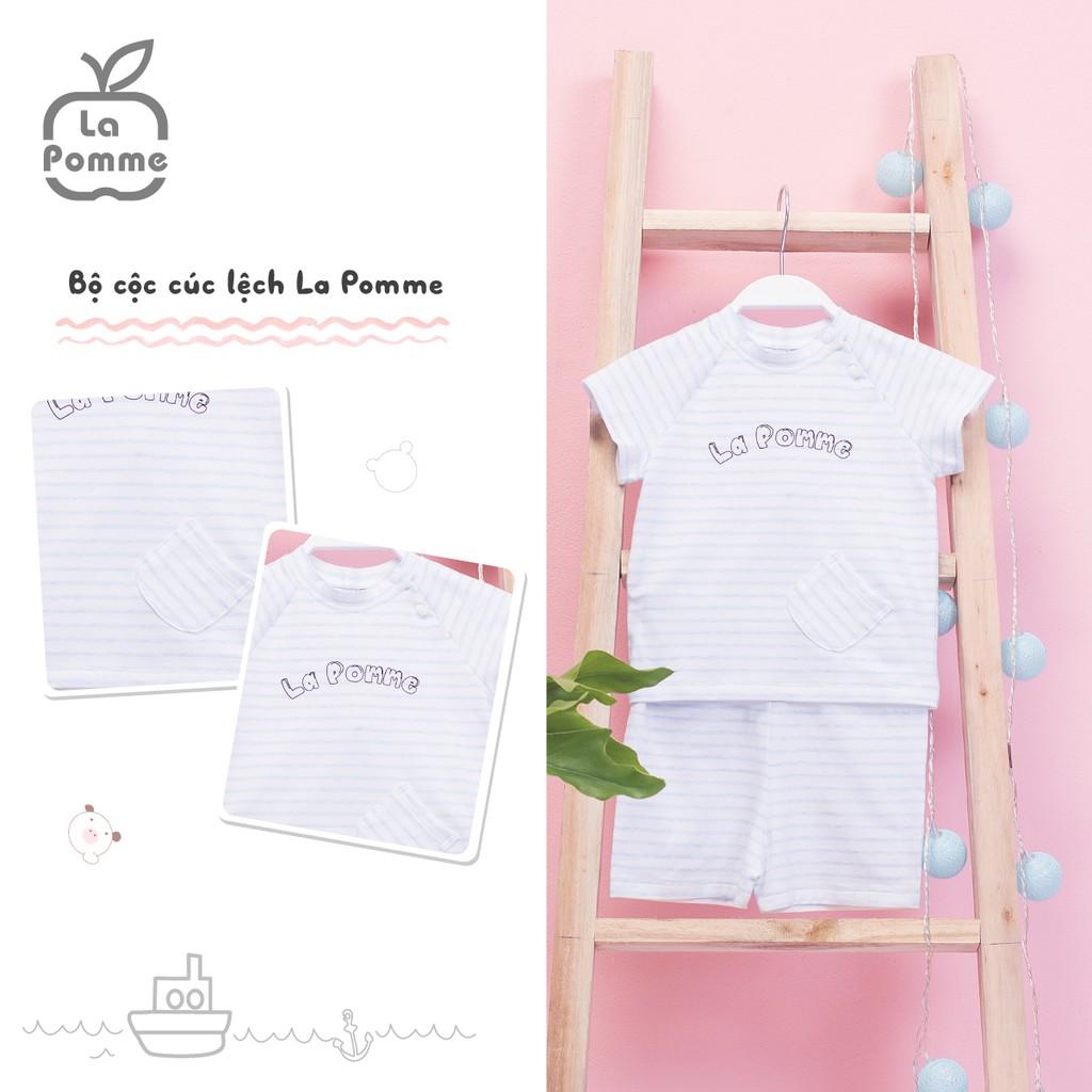 Bộ cộc cúc lệch La Pomme SS011-Kẻ Xanh