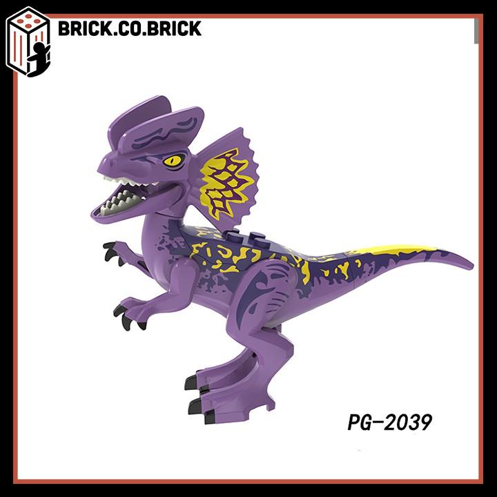 Đồ Chơi Lắp Ráp Non LEGO Khủng Long Mô Hình Dinosaur Jurrasic World - Thế Giới Khủng Long PG8239
