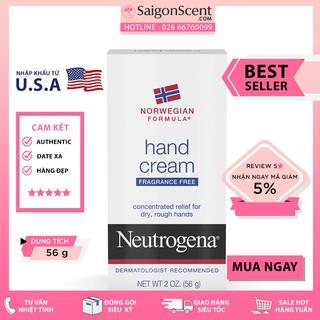 Kem dưỡng da tay Neutrogena Hand Cream Fragrance Free ( 56g )