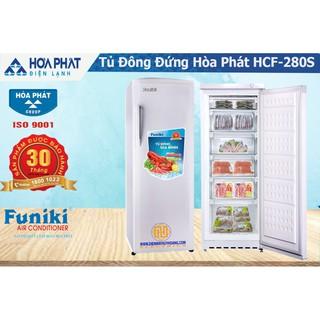 Tủ đông đứng Funiki Hòa Phát 280 lit, HCF 280S