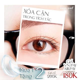 Kính áp tròng trong suốt – 14.2 – 100k 1 bên mắt ( từ 5-14 độ)