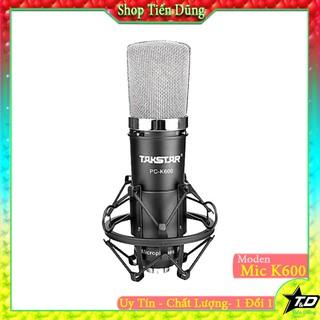 Micro thu âm TAKSTAR PC-K600 - Mic k600 là dòng cao cấp chạy nguồn 48V tương thích mọi sound card