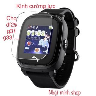 Miếng dán măt đồng hồ thông minh DF25 DF31G...