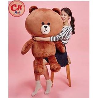 Gấu Bông Brow khổ vải 1,2m cao 1m – 49