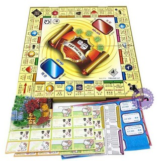 Bộ đồ chơi cờ tỷ phú (loại to)