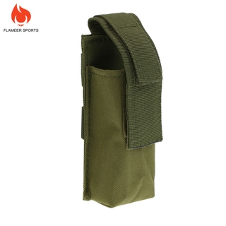 Outdoor Tactical Tourniquet Pouch with Shears Slot Army Green