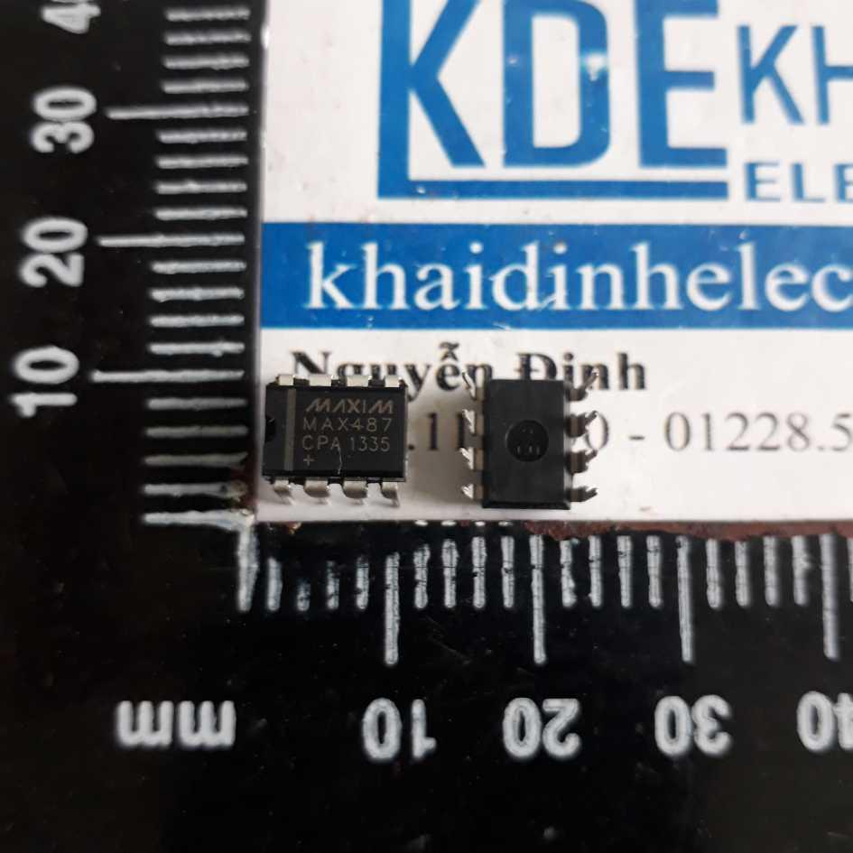 (GIÁ SỐC) 3 con MAX487DIP-8  IC giao tiếp RS-485/RS-422 kde3057 GIÁ SỐC