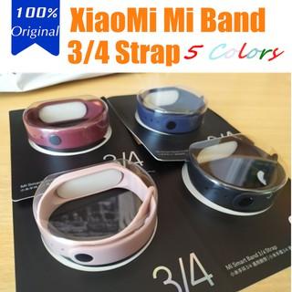 Silicone watch strap for Xiaomi Mi Band 3 4 5 smartwatch thumbnail