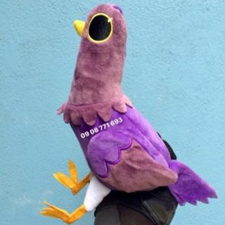 Thú bông chim tím thánh quẩy FB 24cm