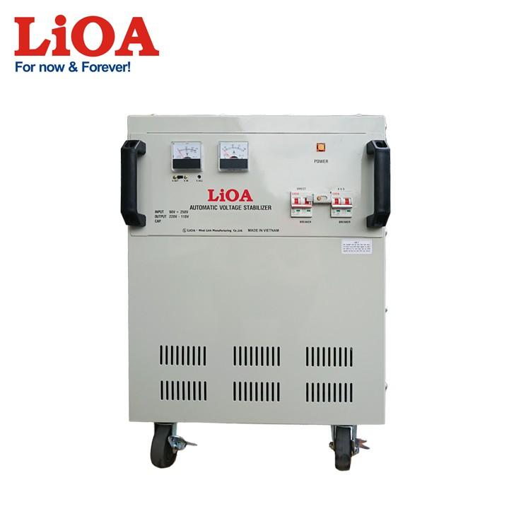 Ổn áp LiOA DRI-30000II dây đồng