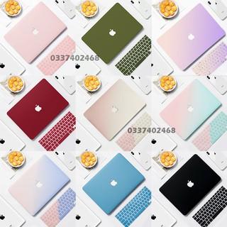 COMBO 5IN1 Case,Ốp Macbook Kèm Phủ Phím Cùng Màu (Tặng Kèm Bộ Nút Chống Bụi & Kẹp Bảo Vệ Chống Gãy Sạc) thumbnail