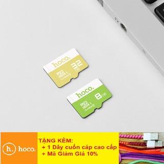 Thẻ Nhớ Hoco FREESHIPGiảm 25K Khi Nhập [CAPSAC25K] Thẻ Nhớ Micro SD Hoco 8-64Gb Class 10 - BH 12 Tháng
