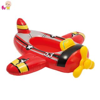 ❦Ready Stock❦ Child Swimming Ring Baby Pool Seat Float Aid Trainer Water Cartoon Boat