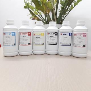 Mực in epson – Mực nước Dye UV dùng cho máy in phun màu Epson T50 / T60 / L800 / L1800… Loại 1 lít