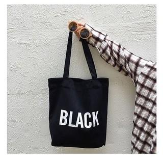Túi tote, túi vải nữ thời trang phong cách Hàn quốc đựng vừa a4 - COLOR 1 màu