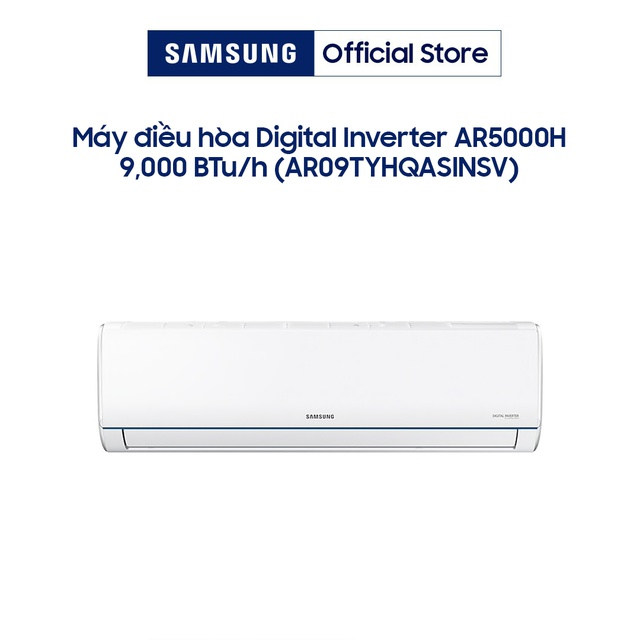 Miễn phí công lắp đặt_Máy lạnh Samsung Inverter - 1.0 HP AR09TYHQASINSV/XSV