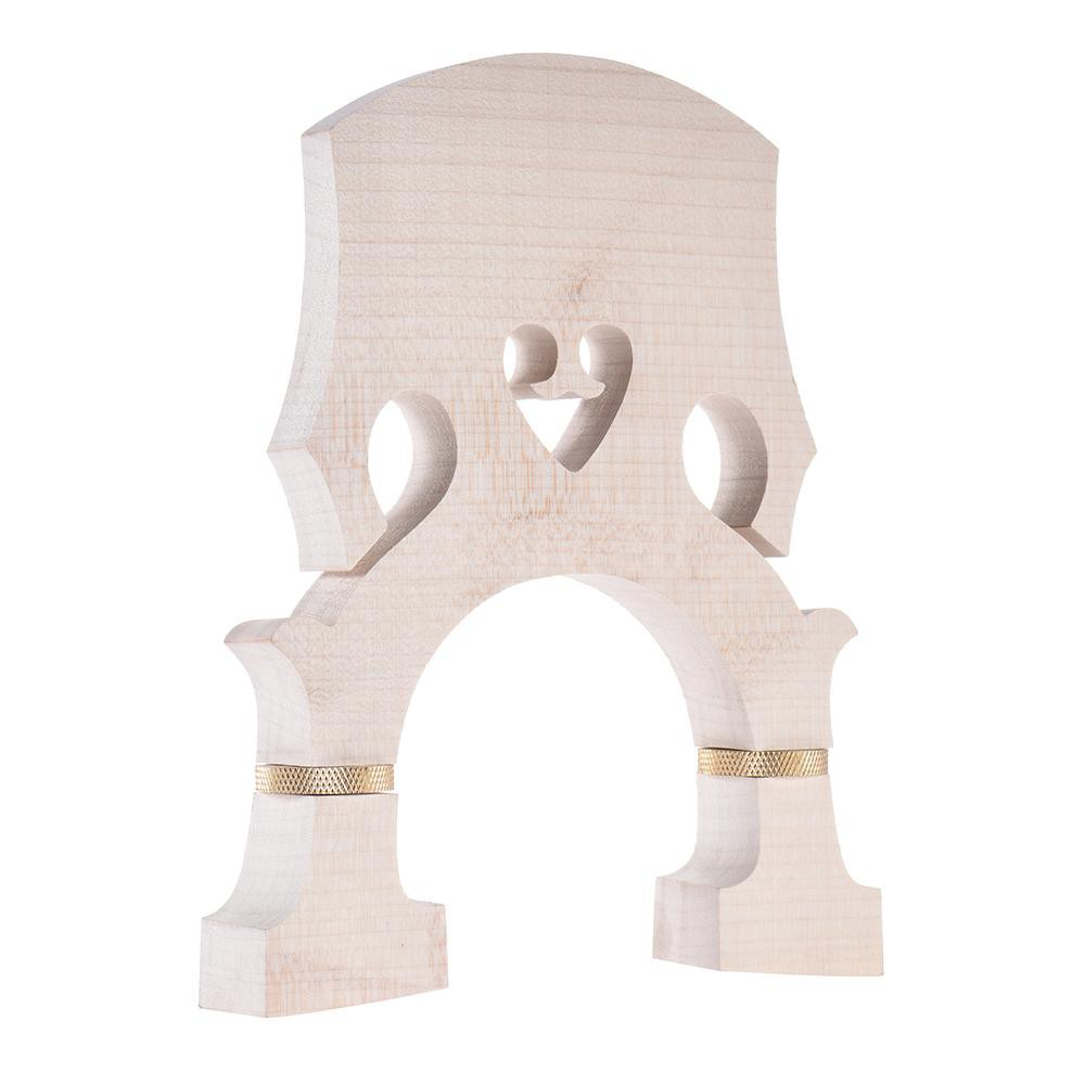 Standard Maple Bridge Replacement Part for 3/4 Size Double Bass Adjustable Upright Bass Bridge