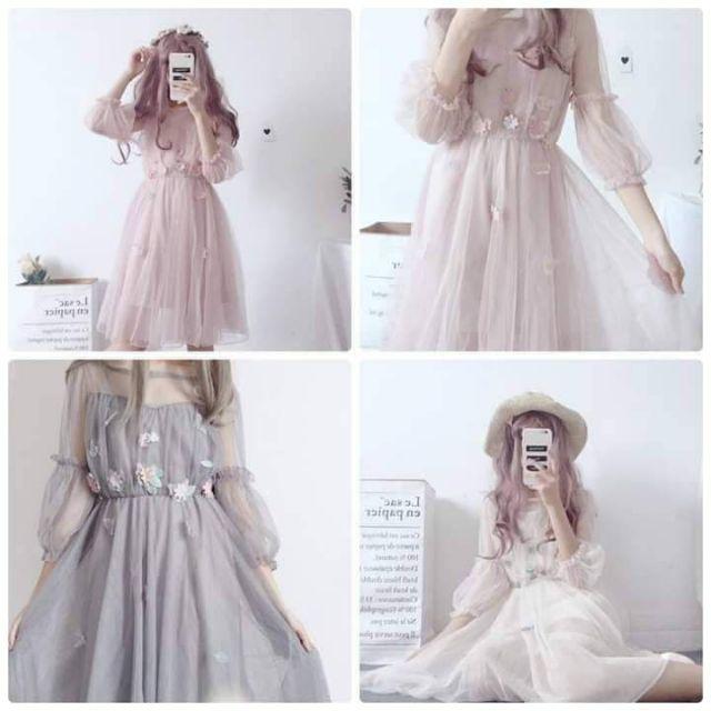 Đầm công chúa combo 10 cái
