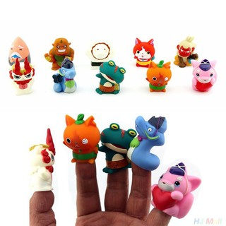 5 Pcs Lovely Mini figures Anime Yokai Designed Figure Finger Toy Kid Gift