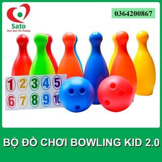 Bowling Mini 12 Món Cỡ Lớn Cho Bé Ném MS 23-24-25