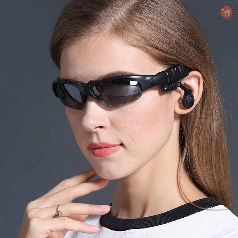 Gm Kính Mát Tích Hợp Tai Nghe Bluetooth Không Dây Tiện Dụng