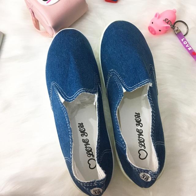 [SALE] Giày lười trơn giá rẻ