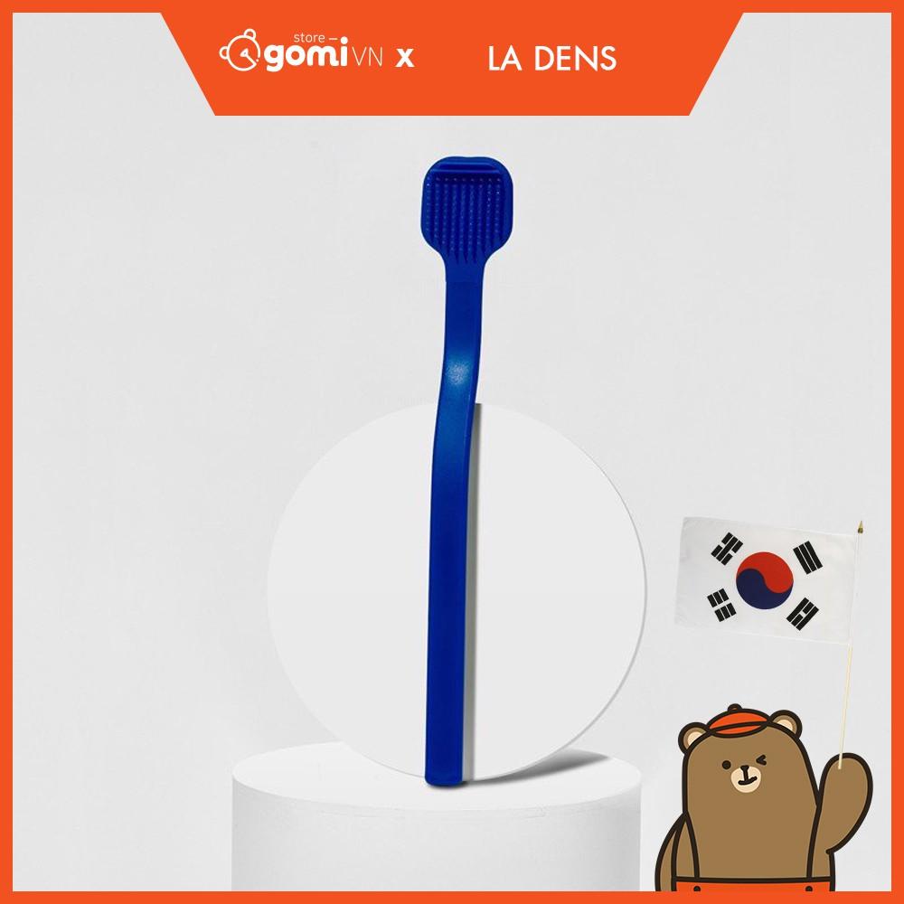 Bàn Chải Vệ Sinh Lưỡi Màu Xanh La Dens Better Tongue Cleaner Blue Gomi Mall