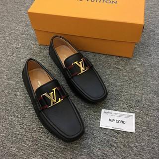 Giày LV siêu cấp Monte Carlo Moccasin GN59 ib chụp ảnh thật