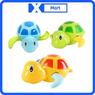 Rùa bơi vặn cót thả bồn tắm cho bé siêu dễ thương thumbnail