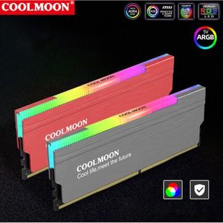 Tản Nhiệt Ram Led RGB Coolmoon - Hỗ Trợ Đồng Bộ Hub Coolmoon Đồng Bộ Mainboard thumbnail
