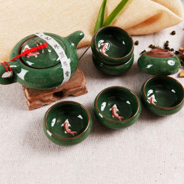 Bộ ấm trà cá 3d - 3118668 , 1135063720 , 322_1135063720 , 75000 , Bo-am-tra-ca-3d-322_1135063720 , shopee.vn , Bộ ấm trà cá 3d
