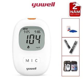 Máy đo đường huyết Yuwell 710 ( tặng 60 test + 60 thumbnail