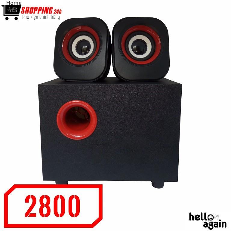 ?Freeship?Loa vi tính 2.1 Vision VSP FT-2800 - Âm thanh chuẩn