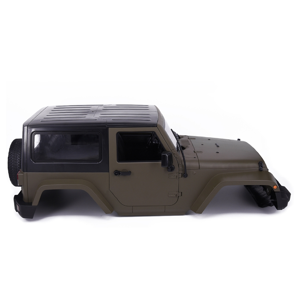 ☽RC 1:10 Jeep Wrangler Rubicon Car Shell for Axial D90 TAMIYA CC01 SCX10 RC4WD
