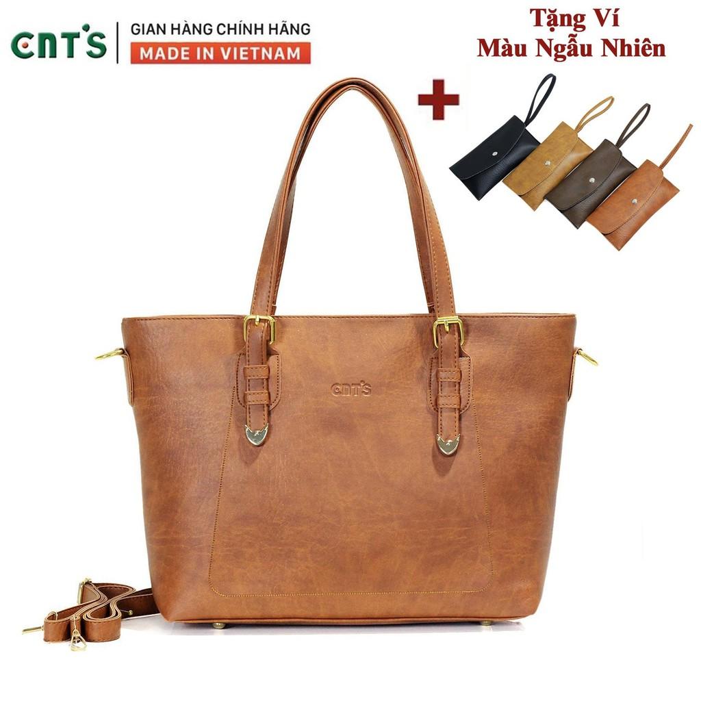 Túi xách nữ thời trang CNT TX39 cao cấp (Kèm
