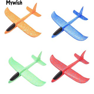 🏆38cm Outdoor Hand Throw AircraftLaunch Glider Plane Model Kids New Toy