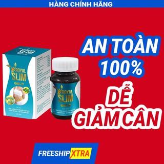 Chính hãng - An toàn - hiệu quả - mua 4 tặng 1 Viên Uống Giảm Cân Royal Slim Gold Minh LaDy Beauty thumbnail
