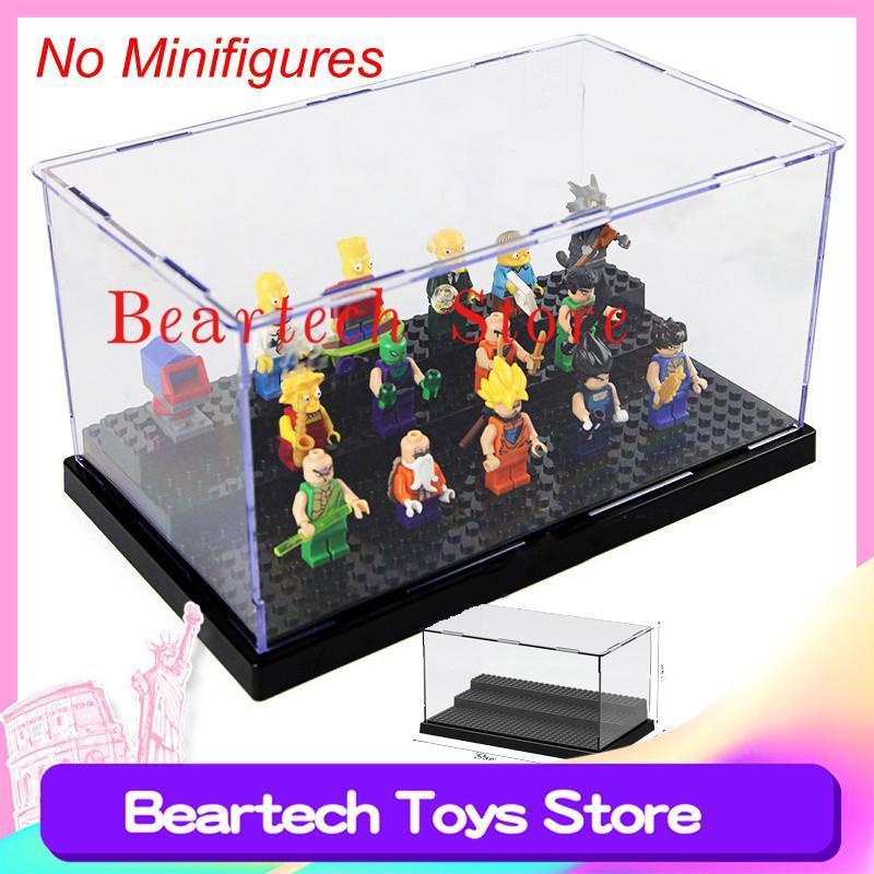 Compatible Lego Marvel LELE 79150 Mini Collection Box Transparent Display Box Building Blocks Bricks Toys