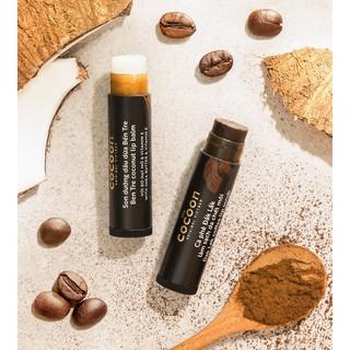 Hình ảnh Combo son tẩy da chết môi Cà phê đắk lắk cocoon5g+son dưỡng môi dầu dừa bến tre cocoon5g-2