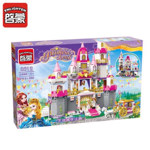Lego princess leah 2612-Lâu đài lễ đường thành hôn cỡ lớn
