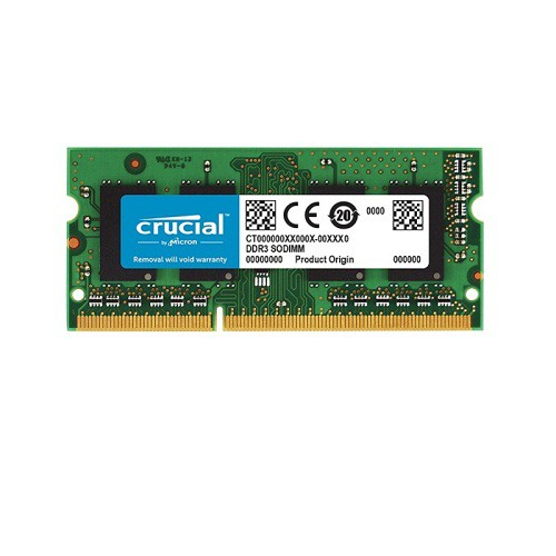 Ram laptop CRUCIAL DDR3 4GB PC3L BUS 1600 FOR LAPTOP - CRUCIAL DDR3 4GB