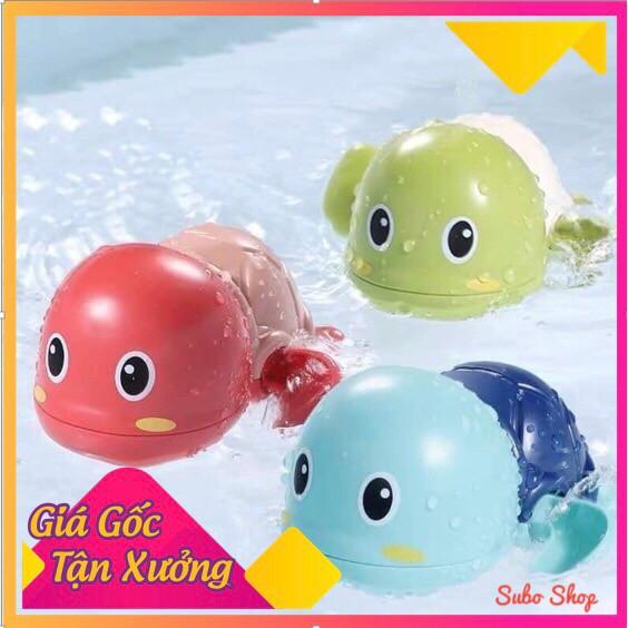 Đồ Chơi Con Rùa Chạy Cót Đáng Yêu Tự Bơi Trong Nước ⚡RẺ VÔ ĐỊCH⚡Giúp Bé Thích Thú Khi Tắm(Nhựa ABS an toàn)